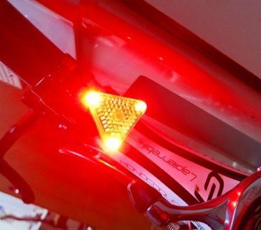 【レビュー】Bikeguy「トライスター レッド」