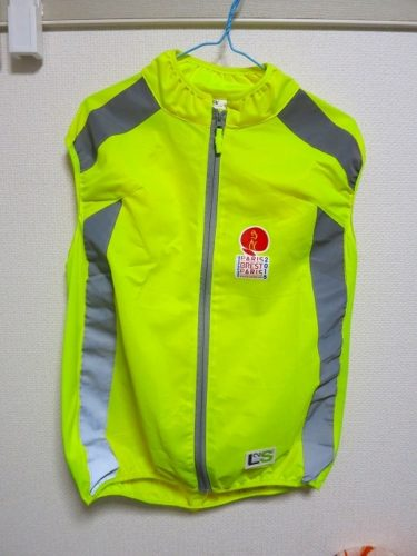 【レビュー】ACP「PBP official reflective vest(2015)」