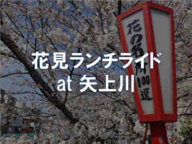 花見ランチライド at 矢上川