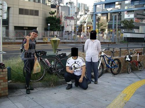TOT2012(Tokyo-Osaka-Tokyo) ⑤折り返し地点:梅田新道
