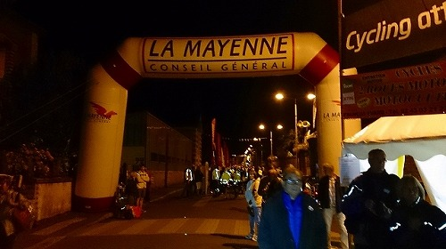 PBP 2015 本編③Villaines-la-Juhel ~ Fougères(309km)