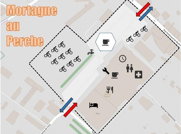 PBP2019: 本編⑰ Mortagne-au-Perche~DREUX(1174km)
